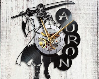 Final Fantasy x Vinyl Clock Auron