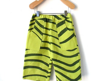 Baby Pants - Size 12 Month - Marimekko Green Waves
