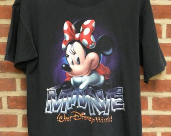 Vintage Minnie Mouse t shirt from Walt Disney World 1990s mickey