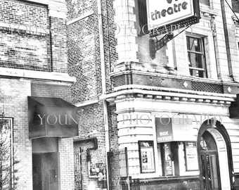 The Vic Theater, Chicago -black & white photograph 16x20