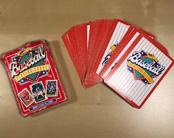 1991 Major League All-Stars Baseball Playing Card Deck