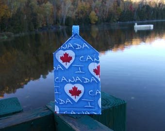 I Heart Canada Luggage Tag