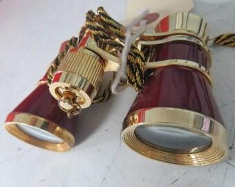 Purple Gold Opera Glasses