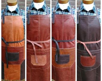 Leather apron, leather apron