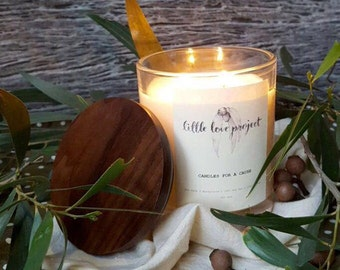 Traveller - hand poured glass jar soy candle