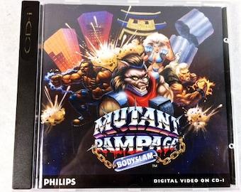 Mutant Rampage Bodyslam Philips CD-i - CD interactive