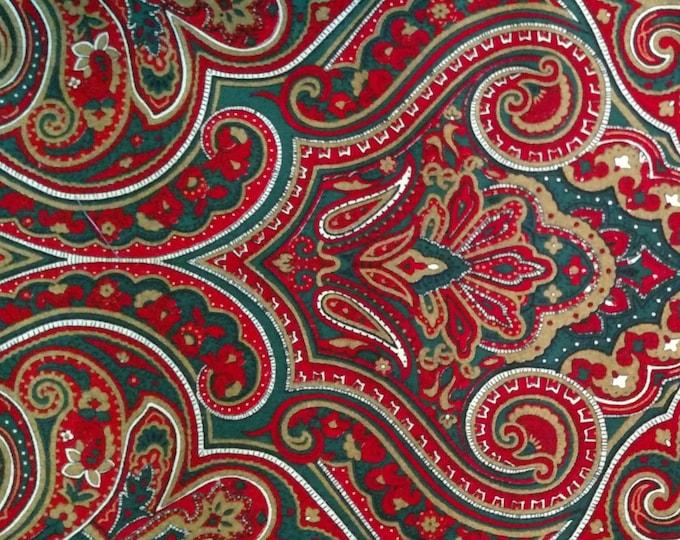 Holiday Paisley 2-fold Stock tie