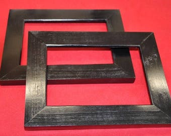 Pair of 8x10 Picture Frames with Glass, Backing and Mounting Hardware