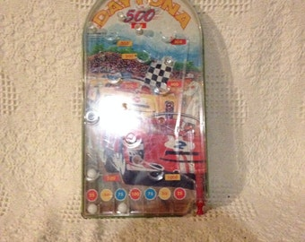 Vintage Daytona 500 Pinball Game ( Wolverine Toys )