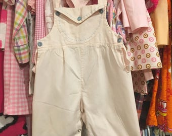 1950s Overalls 9/12 Months