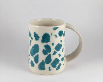 modern porcelain mug