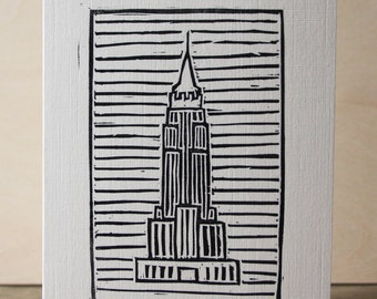 Empire State Building Greetings Card