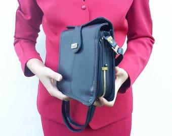 Blue bag vintage anni ' 80 Eveline