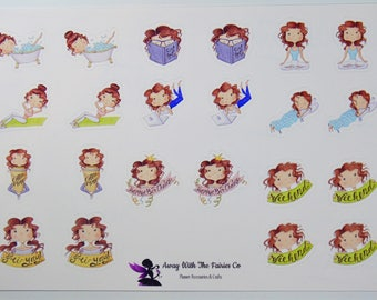 Planner Girl series Planner Stickers