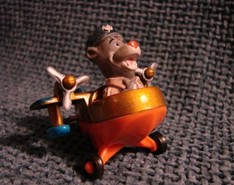 Vintage Talespin Baloo the Bear with Die-Cast Airplane