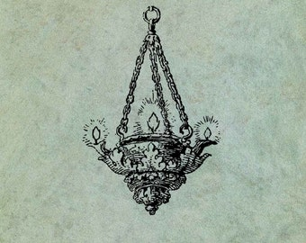 Chandelier - Antique Style Clear Stamp