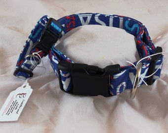 Pet Collars, Dog Collar, Cat Collar, Adjustable Collar, Patriotic Collar, USA Collar, Breakaway Collar, collar de perro