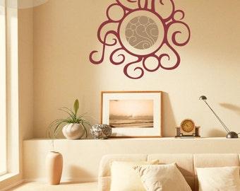 Warmth - Abstract Sun - Vinyl Wall Decal