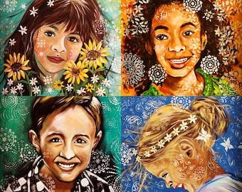 Custom Children's Portraits