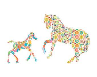 horse art horse print horse wall art girls bedroom art baby nursery decor horse decor baby girl nursery kids wall art horse nursery wall art