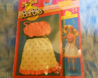 1983 Barbie My First Barbie Fashions -Sealed Package