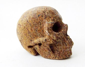 Elephant Skin Jasper Crystal Skull - Crystal, Crystal Healing, Altar Tool, Altar Decor