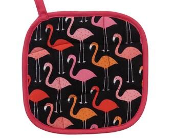 Flamingos Pot Holder