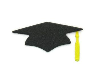 Graduation Cap Die Cut set of 40