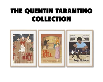QUENTIN TARANTINO COLLECTION !!  Movie Prints set - Posters a3