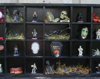 Creepy Halloween Shadow Box