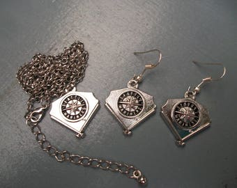 Seattle Mariners Jewelry Set, Bangle, Earrings and/or Necklace
