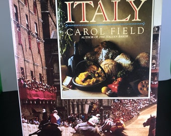 Celebrating-Italy-By-Carol-Field-Hardback-Book-First-Edition Hardback 530 Pages