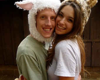 A White Sheep Hat : Adult