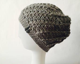 Crochet Slouchy Spiral Hat | iHat v8.0