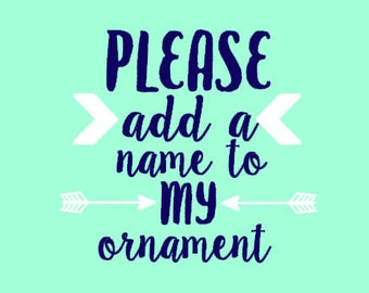 Add A Name To Lumber And Letters Ornaments Or Other Wedding Party Gifts - Add a Date to Wedding Party Gifts