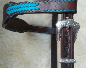 Head set Feather Bridle