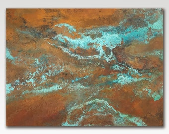 Copper Artisan Wall Panel