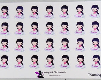 Planner Girl Series planner stickers - Planning - Available in 4 variations