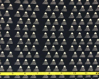 NEW Art Gallery Commute by Limo  on cotton Lycra  knit fabric 1 yard