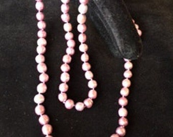 Pale pink Fresh Water pearl necklace