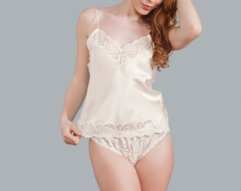 Sienna Silk Camisole - Luxury Collection