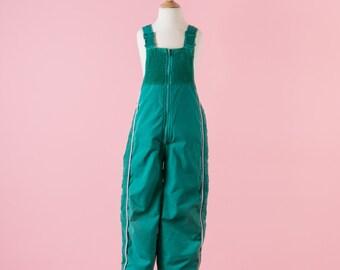 Vintage Teal Green London Fog Snow Suit (Boys Size 7)