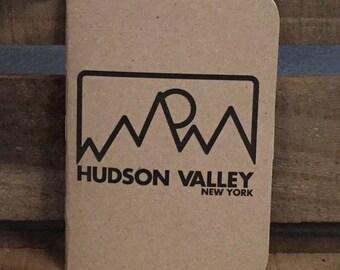 3 Pack Hudson Valley Mountain Kraft Pocket Notebook Journal 3.5x5