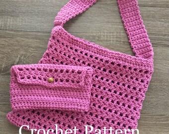 Estrella Tote and Pouch Crochet Pattern: Crochet PDF Pattern