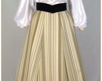 Victorian Stripe Skirt
