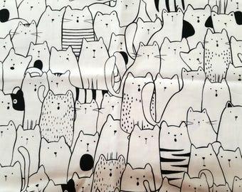 Stitchidori - Black Cats - Fauxdori, diary, notebook cover, journal cover