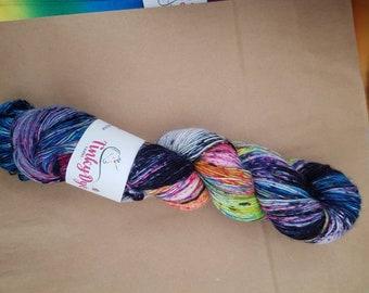 TinkyDye Singles  Sparkle Merino/Nylon/Stellina sock yarn 100g/400m