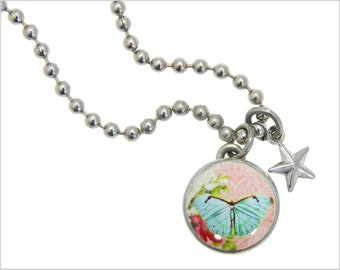kids bracelet, kids jewelry, butterfly charm, butterfly Jewelry, girls pendants, girls bracelets, interchangeable, #135