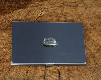 Miners Helmet Business Credit Card Holder Miners Gift FREE ENGRAVING
