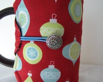 French Press Cozie, Christmas Coffee Pot Cozy, Bodum 8 Cup Press Pot Cosy, Hot Pot Sleeve Cozie